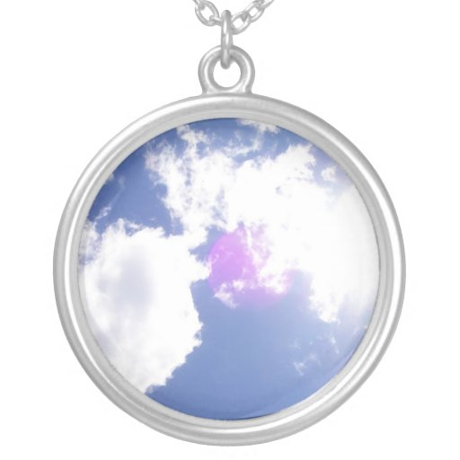 Clouds with Orb Necklace