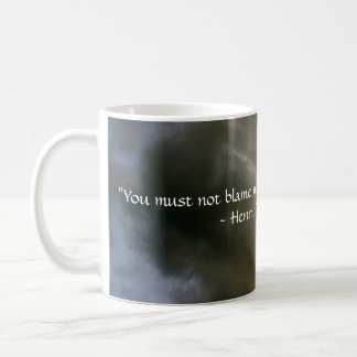 Clouds with Thoreau Quote Coffee Mug