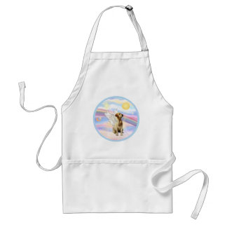 Clouds - Yellow Labrador Angel Adult Apron