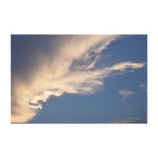 CloudsCanvas Canvas Print