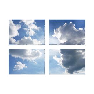 cloudscape canvas print