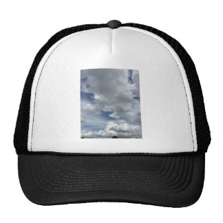 Cloudscape inspirador gorros bordados