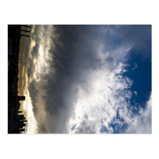 Cloudscape over LA Postcards