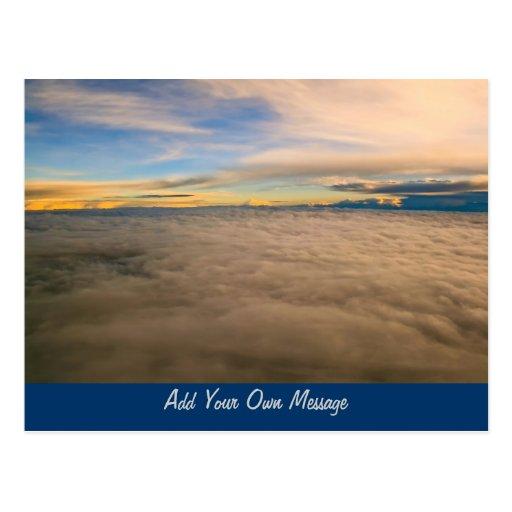 Cloudscape Postcard