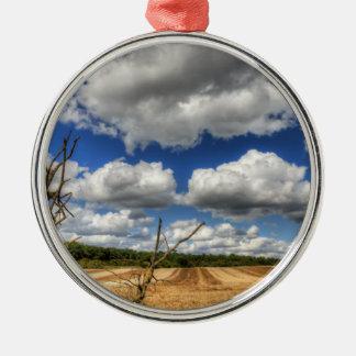 Cloudscape rural ornamentos de reyes magos