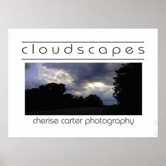Cloudscapes I Poster