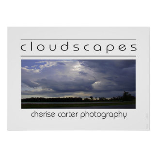 Cloudscapes II Poster