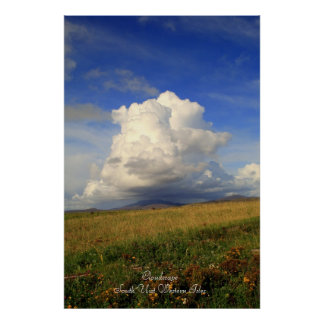 CloudscapeSouth Uist Western Isles Posters