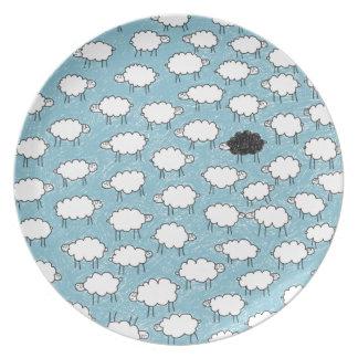 CloudSheeps Melamine Plate