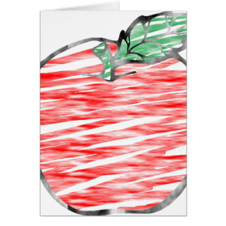Cloudy Apple Card