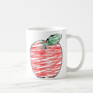 Cloudy Apple Classic White Coffee Mug