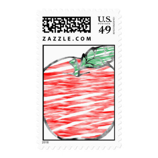 Cloudy Apple Postage Stamps