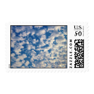 Cloudy Background Postage