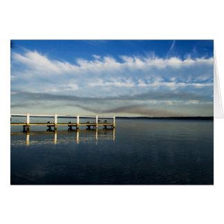 Cloudy Basin Greeting Card