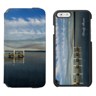 Cloudy Basin iPhone 6/6s Wallet Case