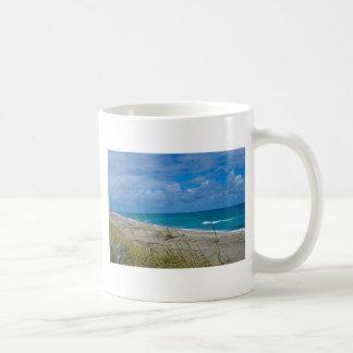 Cloudy Beach at Coral Cove Classic White Coffee Mug