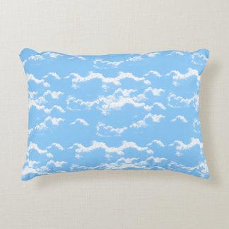 ☁Cloudy Blue Sky☁ Accent Pillow