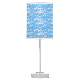 ☁Cloudy Blue Sky☁ Table Lamp
