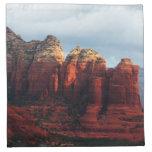 Cloudy Coffee Pot Rock in Sedona Arizona Cloth Napkin