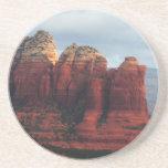 Cloudy Coffee Pot Rock in Sedona Arizona Drink Coaster