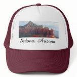 Cloudy Coffee Pot Rock in Sedona Arizona Trucker Hat
