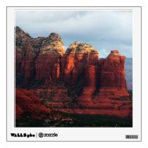 Cloudy Coffee Pot Rock in Sedona Arizona Wall Sticker
