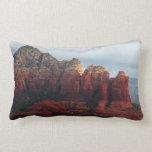 Cloudy Coffee Pot Rock Sedona Arizona Photography Throw Pillow