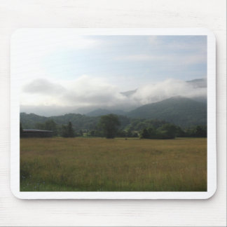 Cloudy Day at Cades Cove Mouse Pads