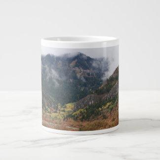 Cloudy Day At Logan Canyon Jumbo Mug