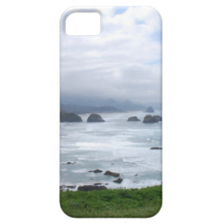 Cloudy Day at the Oregon Coast iPhone SE/5/5s Case