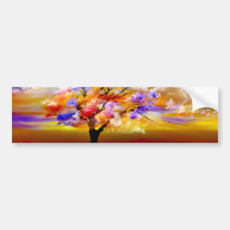 Cloudy Day Bumper Stickers