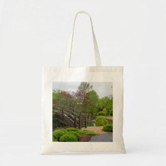Cloudy Day Garden Stroll Tote Bag