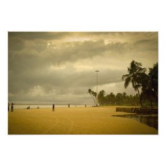 Cloudy Day in Goa Photo Print