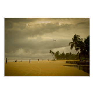 Cloudy Day in Goa Poster