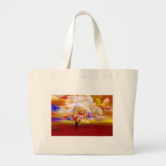Cloudy Day Large Tote Bag