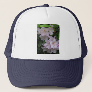 Cloudy Day  Rhododendruon Blossoms Trucker Hat