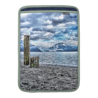 Cloudy day RK lake lucetikel arrange individual Sleeve For MacBook Air