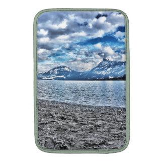 Cloudy day RK lake lucetikel arrange individual Sleeves For MacBook Air