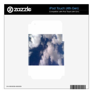 Cloudy Day Decal For iPod Touch 4G