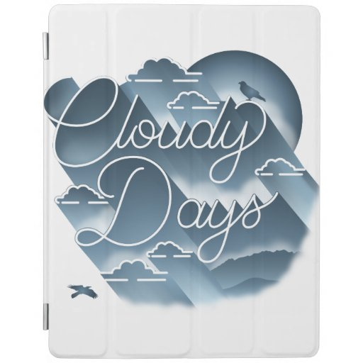 Cloudy Days Cover Case White