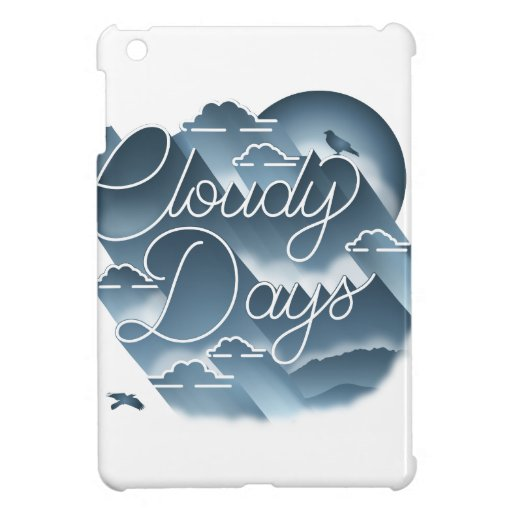 Cloudy Days iPad Mini Case