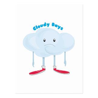 Cloudy Days Postcard