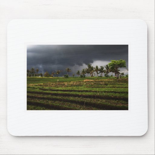 Cloudy in Bali Mouse Mat