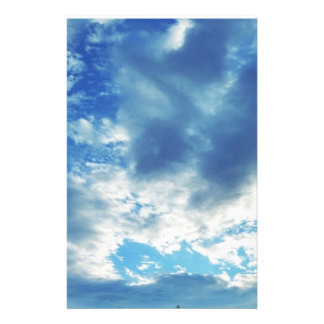"Cloudy in Boothbay Maine 5.5"" x 8.5"" Stationery"