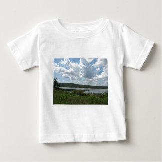 Cloudy Lake Over Henryetta Baby T-Shirt