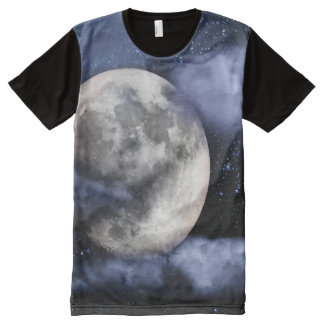 Cloudy Moon All-Over-Print Shirt