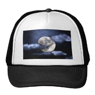 Cloudy Moon Trucker Hat