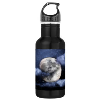 Cloudy Moon Water Bottle