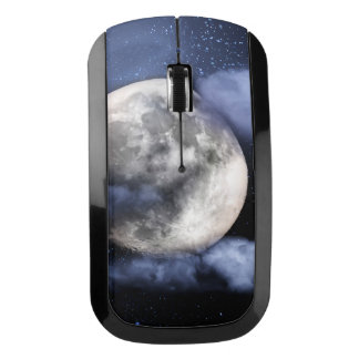 Cloudy Moon Wireless Mouse