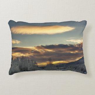 Cloudy Mothership Accent Pillow
